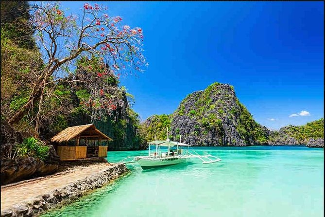 TOUR DESTINATIONS<br>1ST DAY: CORON TOWN TOUR<br><br>Mt Tapyas View Deck<br><br>Maquinit Hotspring<br><br>Public Market<br><br>Town Plaza<br><br>Lualhati Park<br><br>Souvenir Shops<br><br>St. Augustine Church<br><br>Harbour Center<br><br>Cashew Harvest<br><br>2ND DAY: ULTIMATE CORON ISLAND TOUR<br><br>(7 HIGHLIGHT & MUST-SEE DESTINATIONS IN CORON)<br><br>Kayangan Lake<br><br>Twin Lagoons<br><br>Balinsasayaw Reef<br><br>Skeleton Wreck<br><br>Malwawey Reef & Coral Garden<br><br>CYC Beach<br><br>3RD DAY: ISLAND ESCAPADE TOUR<br><br>(3 BEST BEACHES IN CORON)<br><br>Malcapuya Island<br><br>Banana Island<br><br>Bulog Dos Island<br><br>PACKAGE DOES NOT INCLUDE HOTEL ACCOMMODATION<br><br>FREE TRANSPORTATION<br><br>Round-trip (airport-hotel-airport) transfers<br><br>Fully air-conditioned van<br><br>Meet & greet upon your arrival<br><br>Welcome leis<br><br>All pick-up & drop-off during tours<br><br>MEAL INCLUSIONS<br><br>Daily breakfasts<br><br>2 buffet picnic lunches for 2 whole days island hopping tours<br><br>2 local delicacy snacks during tours<br><br>Light snacks on Coron Town Tour<br><br>TOUR ACTIVITY INCLUSIONS<br><br>All national park fees are included<br><br>