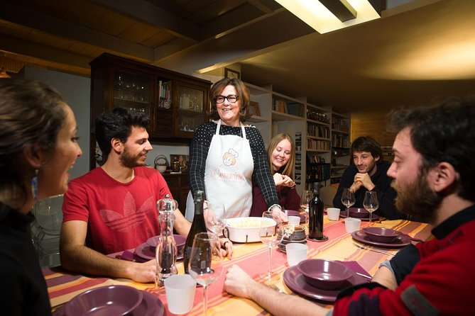 Would you like to discover regional dishes and share your passion for the Italian gastronomy with new friends?<br><br>Enjoy this small group dining experience, the perfect way to taste authentic and delicious recipes with great company of other Italy lovers.<br><br>Warm up with a typical Italian Aperitivo (Prosecco and nibbles) and then continue with a 3-course menu showcasing the specialties of the city you are visiting and the favourite traditional family recipes of your Cesarina.<br><br>Ready to live an unforgettable experience?
