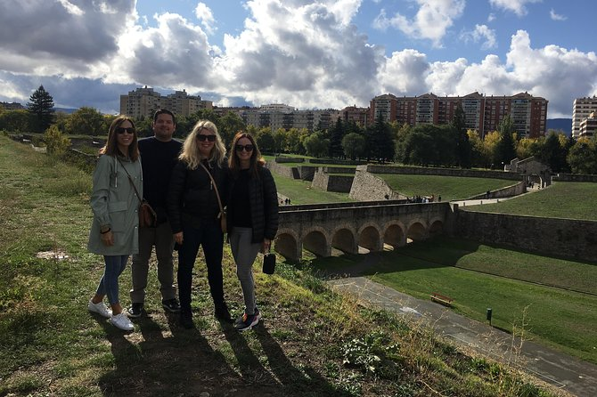 Private tour of Pamplona from San Sebastian with 3 course meal, ,