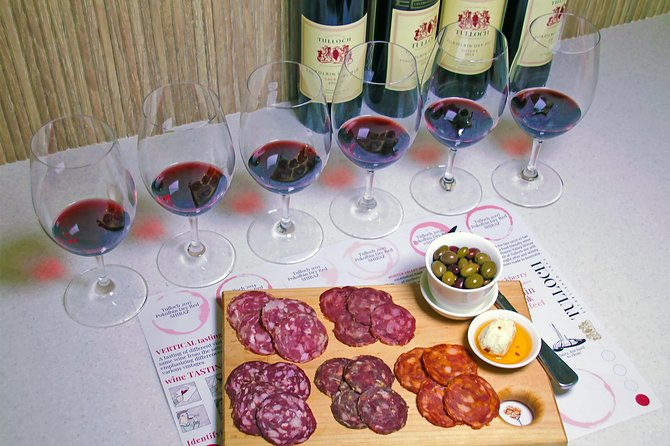 Tulloch Wines- Tasting of 6 Pokolbin Dry Red Shiraz Vintages with Charcuterie, Hunter Valley, AUSTRALIA