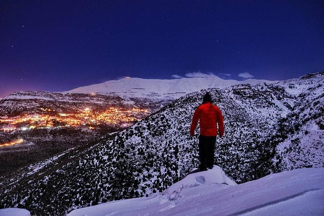 Hike/snowshoes at night is an activity not to be missed. Hiking with either stars overhead, full moon or snow fluttering down is a mixture of the noises of the night around you.<br><br>As peaceful as a daylight hike adventure can be, night hike is much more.<br><br>If you will be lucky you will have the chance to admire the northern lights <br><br>dansing in the sky.<br><br> This tour is suitable for the whole family.