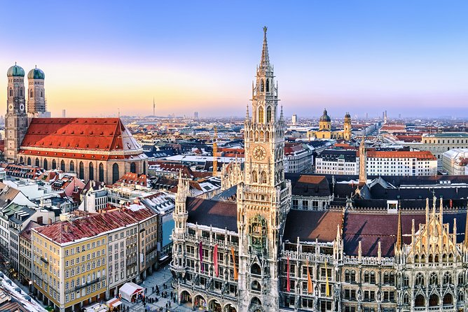 Panoramic Hop-On Hop-Off Tour of Munich by Double-Decker Bus, Munich, GERMANY