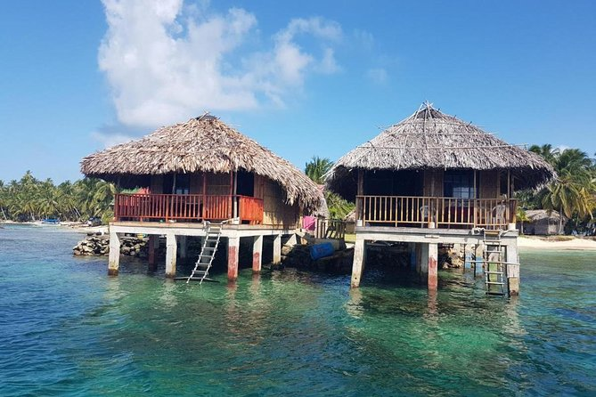 MAIS FOTOS, 2D/1N Over-the-Ocean cabin in San Blas (Price for 2 Guests) Incl Meals and Tour