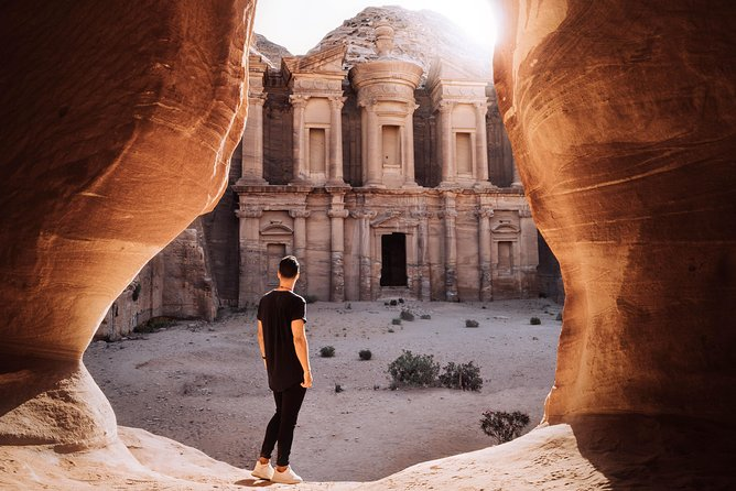 Private Day Trip to Petra and Dead Sea from Amman, Aman, JORDANIA