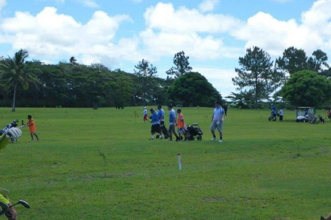 This is a Golf Tour to the only Golf course in Tonga with only 9 holes but can be played twice to complete the 18 holes<br><br>This is the only Golf Tour in Tonga and we have been running this tours with bookings from the Cruise Ships.<br><br>This Tour is very different to the other tours offered here in Tonga <br><br>This is the only on hands excursion tour such an experience