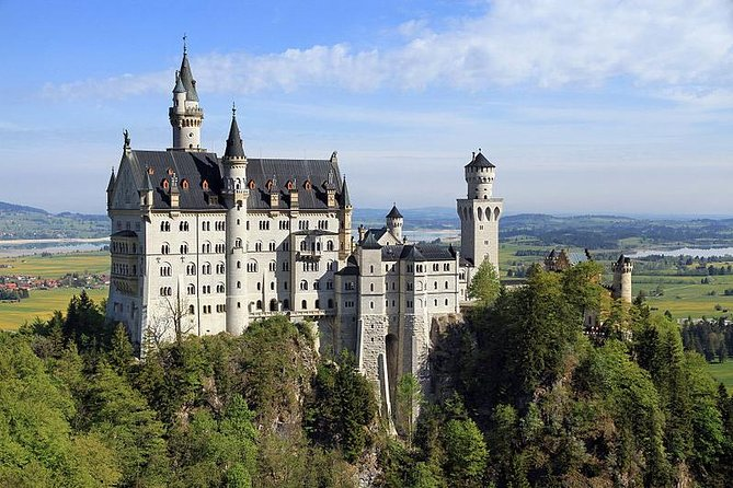 Your guide is vaccinated 2 x !<br>Visit some of Bavaria's most spectacular places on a private, full-day tour from Lindau, Friedrichshafen, Bregenz - Lake Constance <br>Experience the fairy-tale Neuschwanstein Castle, enjoy free time to explore Marien Bridge, Alpsee, and Hohenschwangau. <br>At Castle Neuschwanstein horse carriage ride to the castle included.<br>Skip the line tickets for the tour Photo stop <br>Thereafter walk to Mary´s Bridge for amazing pictures<br>Later our tour is going to the famous Wieskirche (the church in the meadow). Wieskirche or Wies Church is one of the most important places of pilgrimage in southern Germany.<br>Next stop is the picturesque village of Oberammergau, where the original Passion Play started in the 1634 period. This little historic village is famous for wood carving and for many House paintings and more. <br>Late afternoon driving back along the German Alp road to your hotel at the Lake Constance area. <br>