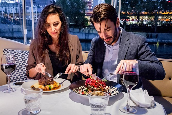 Indulge and enjoy a private dinner cruise on Melbourne's spectacular Yarra River for you and your partner.