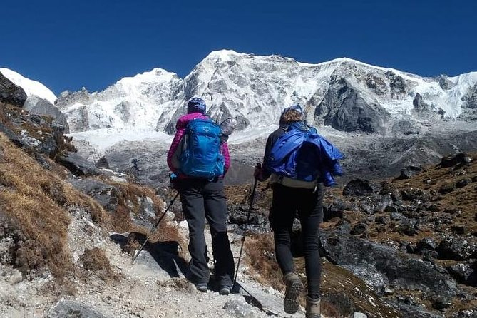 TheGoechaLa trek in Sikkimis a highest mountain pass a naturalist's paradise and a pleasing destination shown as a crown of the Sikkim situated at Himalayan range in India. (Elevation (5,000m or 16,404ft) This is the summit from where everyone can able to viewed Mt. Kanchenjunga, the world's third highest mountain; Goechala Pass is dream, desire and amazing trekking destination that is loved by traveller to summit. It is not about Kanchenjunga alone can seen but the combination of other big summits around it makes Goecha la Trek an absolute adventure to many and it is a great pleasure to watch these summits from the landscapes filled with exotic flowers and immensely attractive meadows and forests.Goechala trekoffers the benefit of having experienced a truly spectacular alpine trek within a span of a week.