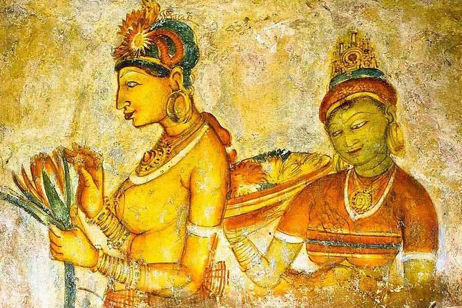 Sigiriya Rock Fortress and Cave Temples Private Day Trip, Anuradhapura, Sri Lanka