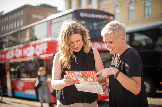 Join us for the ultimate Hop-On Hop-Off sightseeing in Helsinki! See best sights of the city and hear the true Story of Helsinki.