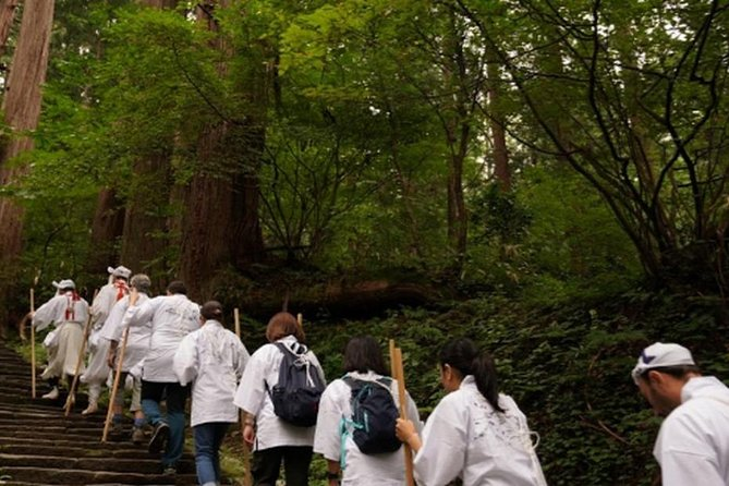 Yamabushi Experience on Mt. Haguro, ,