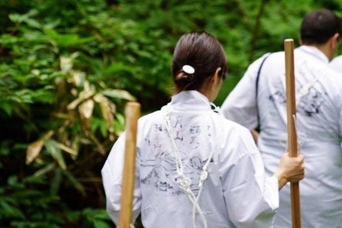 Trek with Yamabushi on Mt.Haguro, ,