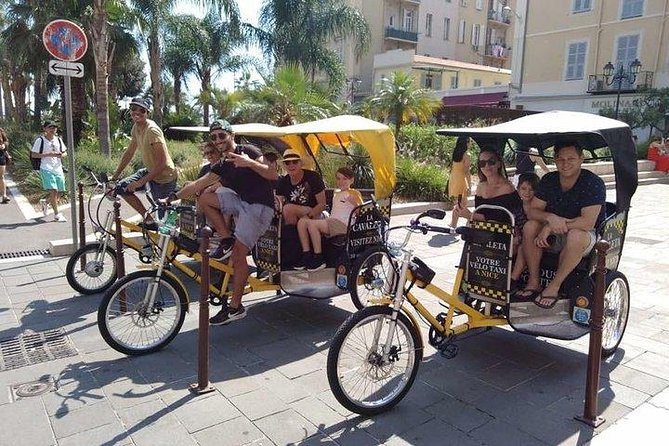 Recorrido en bicitaxi por lo más destacado de Niza, Niza, FRANCIA