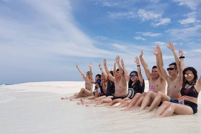 Full Day Adventure Trip includes Sandbank Trip, Guided Snorkeling, Beach Photography, Canoe Ride, Dolphin Cruise, Picnic Lunch & English Speaking Tour Guide. Snorkeling Equipment, Shower Facilities, Tea/Coffee, Changing Room are also provided. Underwater Photography is also available with limited charge.