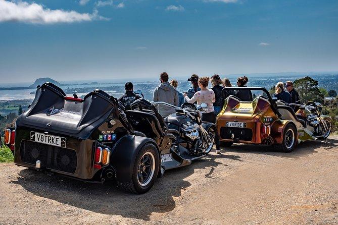V8 Trike Guided Tour to Mount Maunganui Main Beach, Tauranga, NOVA ZELÂNDIA