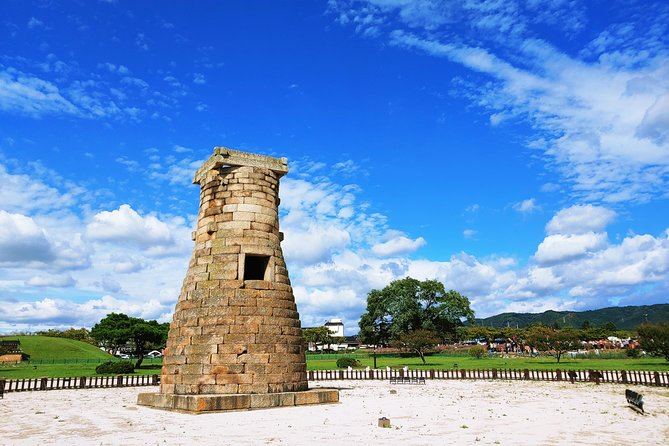 * Activity Summary<br><br>Do you want to catch a glimpse of Korea's splendid past? Here is one city for your wish. Gyeongju is the capital of the ancient kingdom of Silla. <br>- Visit the most important historic UNESCO sites of Korea<br>- Learn about Bulguksa Temple and Anapji Pond and their long histories<br>- See landmark in Gyeongju which is an ancient astronomical observatory tower and is the oldest surviving observatory in Asia<br>- Take a glimpse of the tomb of a king of Shilla<br>* Why you should book with us?<br>- We do not deal with big-size group bookings. Our small-size tours guarantee a personalized approach to give you the best quality tour<br>- Professional local tour guide will be with you along the tour<br>- They are experienced, friendly and knowledgeable <br>- Your tour guide will take you to nice local restaurants<br>- No shopping stops will be considered as compulsory during our tours <br>- Your guide will be waiting for you and drop you off at Busan International Cruise Terminal safely.