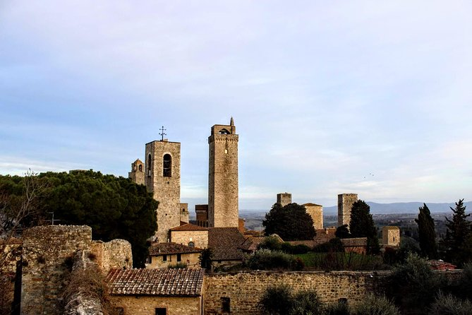 "Explore the historical town of San Gimignano UNESCO World Heritage Site, known by many as ""The Manhattan of Tuscany"" due to its unique features handed down through the centuries.<br>Taste the famous local white wine ""Vernaccia"" relaxing in a panoramic terrace, with an amazing view on the Tuscan rolling hills.<br><br>Join this guided tour for small group led by a funny local guide to discover the best of Tuscany!"