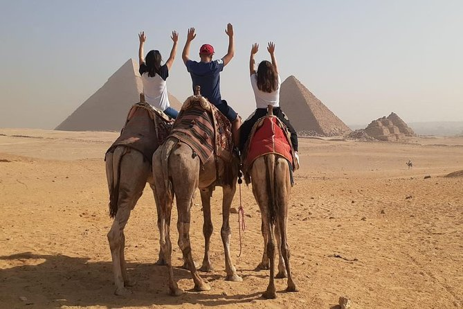 MÁS FOTOS, Giza Pyramids and Sphinx Tour from Cairo Airport