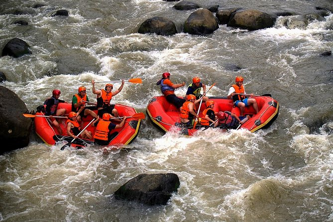 Rafting on the Nimanga River is something that every adventure lover should experience. The river is located in Timbukar Village, Minahasa Regency. This activity starts with about 1.5 hours of shuttle ride from Manado to Nimanga River. Once you arrive at the starting point, a professional rafting guide will provide you with all the rafting equipment you need, so you can safely try out this extreme sport. Get ready to paddle through rough waters. Tackle the wild and untamed rapids, and marvel at the tropical forest around the track. This incredible rafting ends at about 04.00 PM, and before you head back to your accommodation, you can regain your energy with a hearty lunch.