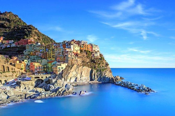 Excursión guiada por Cinque Terre en monovolumen y barco, Livorno, ITALIA