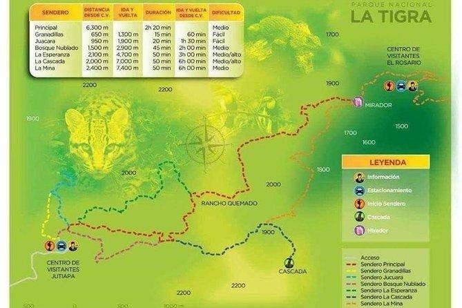 Tour al Parque Nacional La Tigra, Tegucigalpa, HONDURAS