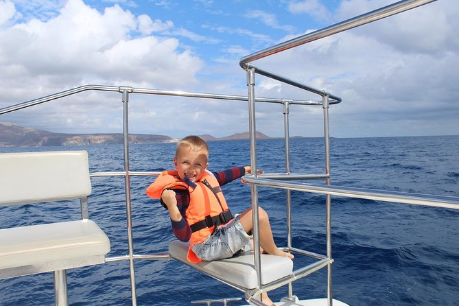 Whale Watching Catamaran Cruise with Snorkeling and Transfers, Tenerife, ESPAÑA
