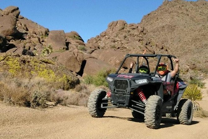 This extreme RZR tour through Hidden Valley and Primm Valley from Las Vegas will take you on a challenging and exhilarating ride through rugged desert and mountain terrain. This tour is the longest available in Las Vegas and is not your ordinary sightseeing tour!