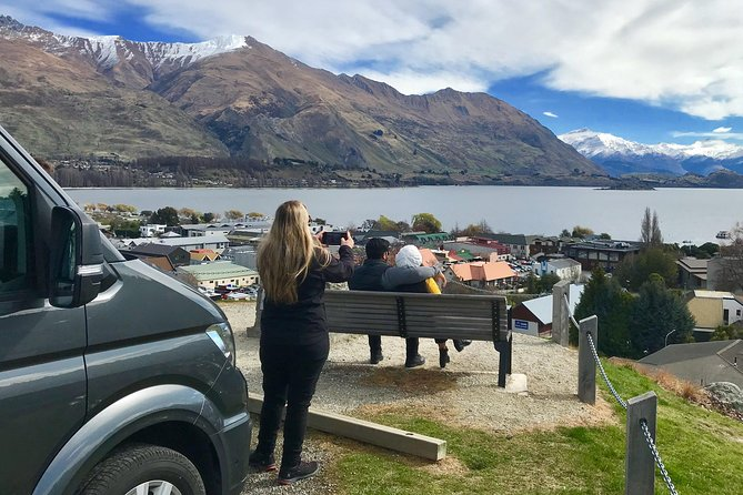 The Originaland top rated Arrowtown & Wanaka Small Group Full Day Tour. This tour has been the top rated small group experience of this type for the last five years.<br><br>6 Regions :Arrowtown, Wanaka, Cromwell, Crown Range, Cardrona, Gibbston & Kawarau Gorge<br><br>13 Amazing Stops :LOTR & Bungy Bridge, Kawarau Gorge, Fruit Tasting, Cromwell, 45th sign, Wanaka township, high view over Lake Wanaka, the Wanaka tree, bra fence, Cardrona Hotel, Crown Range, Crown Terrace and Arrowtown/Chinese Village.<br><br> Small group tour to Arrowtown, Wanaka plus much much more. We provide fun interesting commentary, help with your photos andgive great recommendations for everything from lunch toshopping. Being thetop rated and originalArrowtown & Wanaka small group tour your day is going to be amazing. The best way to see the region is with a fun local guide. <br><br> Morning refreshments and an a afternoon beverage included. <br><br>Please note this tour is not suitable for children under 5 years old.<br>