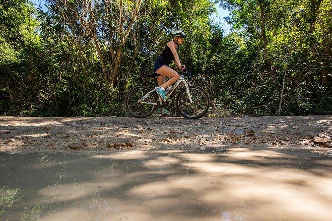 Excursão de bicicleta por trilha Cenote em Tulum, Tulum, MÉXICO