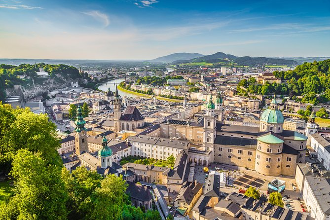 """Located right on the border with Germany is this Austrian, baroque city.<br>Turbulent past and wars had no impact on it and remained one of the most preserved cities north of the Alps. That's why it ended up on the UNESCO World Heritage List.<br>We must not forget that Salzburg is the birthplace of one of the greatest composers W.A. Mozart and a shooting location for """"The Sound of Music"""".<br>Come to Salzburg and be immersed in the magic of this world famous city."""
