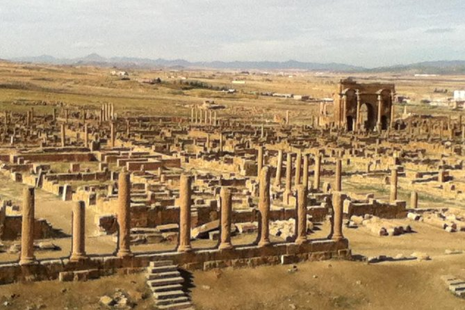 Two Main UNISCO Heritage Sites included,Djmila and Timgad.Plus the visit to Constantine and Algiers attractions.