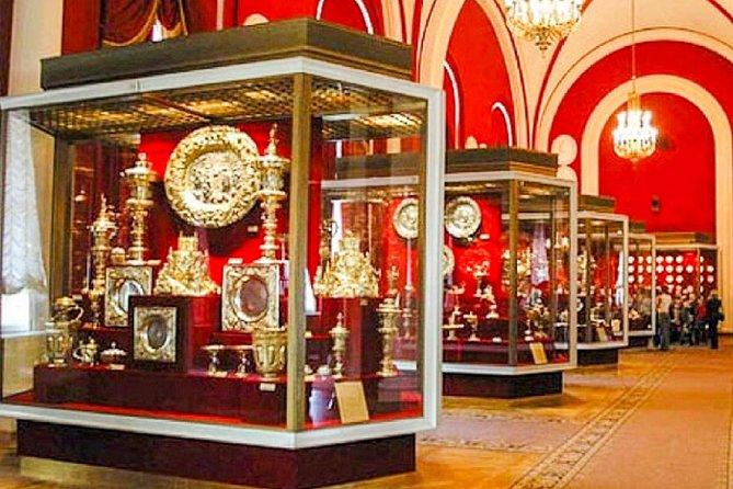 Ingresso para a Câmara de Armas do Kremlin em Moscou, Moscovo, RÚSSIA