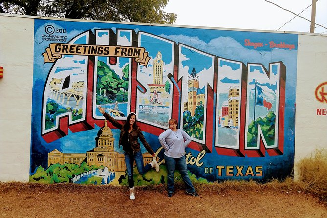 """How did Austin get its """"weird"""" reputation? Why is Willie Nelson worshipped like a god king? What's the deal with all the bats? Why are locals getting into bar fights over the best breakfast taco?<br><br>Find out all these answers and more…even if some of it may shock you…on our Weird Austin City Tour.<br><br>Here at Twisted Texas we trolled the archives, pestered locals, and maybe even did a little dumpster diving to know all the weird and wild tales of Austin. And now we want to share them with you. Your Twisted guide will show you the best of everything Austin has to offer: live music, food trucks, weird people, and oh so much more.<br><br>As an added bonus, we have a local musician riding shotgun to strum up some singalong classics and a few original tunes.<br><br>We make three badass stops along the way, with chances to sample local foods, have a sweet treat (on us!), buy local craft beers, and snap cool photos of local street art and the downtown skyline.<br><br>All riders gotta be 13+, no babies."""
