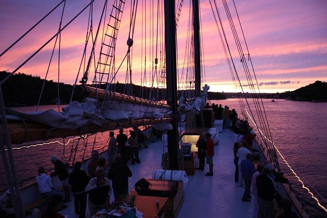 Open Deck Party Aboard the Tall Ship Silva, Halifax, CANADA