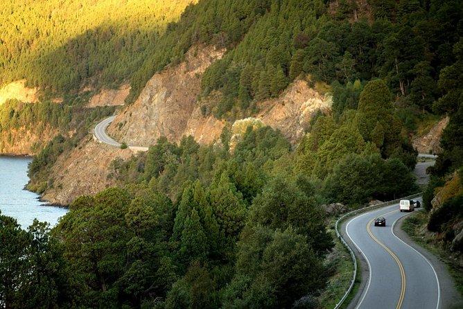 Camino de los siete Lagos, bilingüe, Bariloche, ARGENTINA