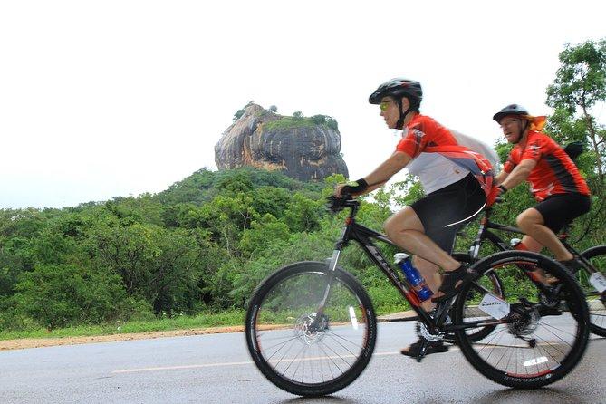 5th century rock fortress shadow cycling – Sigiriya, Sigiriya, Sri Lanka