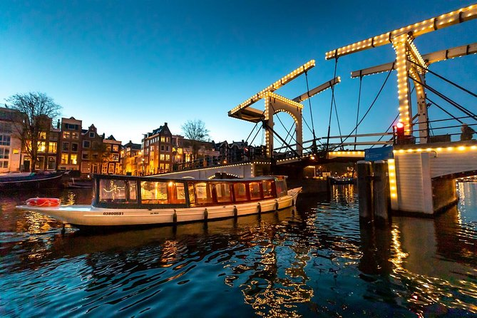 NEW: Evening Canal Cruise starting at Anne Frank House, Amsterdam, HOLANDA