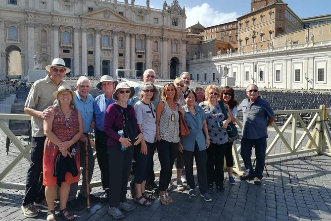 """TheRome Full Daytour for a true taste of Rome let our driver-guides give you an """"in-depth"""" into thespecialandparticular featuresof the city leaving you hungry for more.Drivers are not licensed tour guide but they are knowledgeable about the history and the culture. They will explain the sites from inside the vehicle but they are NOT authorized (Italian Law) to walk with you inside Churches, Museums, Ruins, Monuments. You can request a private Licensed Tour Guide for the Coliseumand the Vatican Museums.<br>According to the Vatican City rules If you visit the Vatican Museums without a tour guide is not going to be possible to enter St. Peter's Basilica."""
