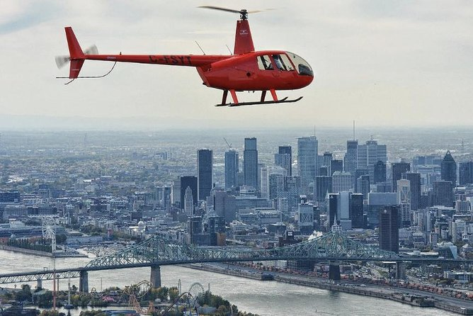 Helicopter Tour Over Montreal, Montreal, CANADA