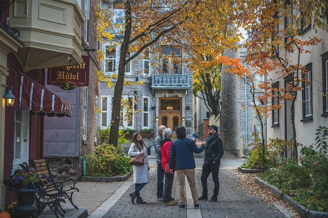 Old Quebec City Walking Tour + Funicular (Winter/Autumn), Quebec, CANADA