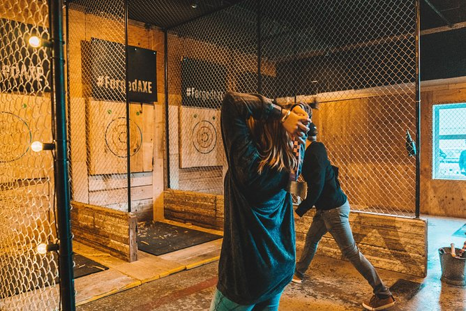 Axe Throwing - One Hour Guided Experience, Whistler, CANADA