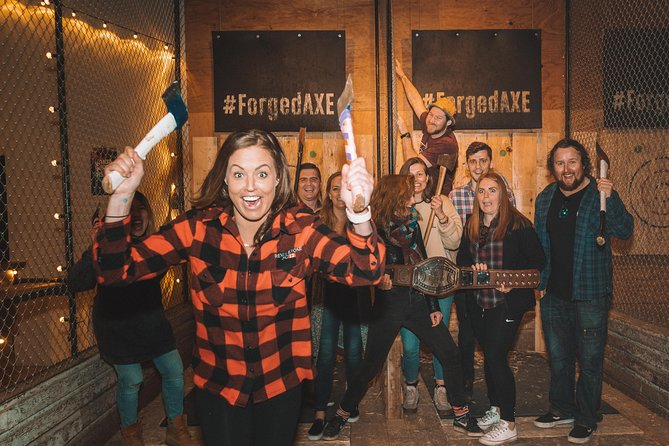 Drop in for an hour, let us introduce you to this great sport and guide you through the basics of throwing an axe and hitting the bullseye! Bring your friends and family, a stranger you met on the bus, a tinder date you want to make a great first impression on… grab an axe and get throwing! <br><br>Axe throwing is an amazing indoor activity in Whistler, no matter the weather outside you can always throw and axe!<br><br>It's a great opportunity to learn a new skill under the guidance of our experienced coaches, or perfect the skills you already have.<br><br>In a mountain town with few indoor activities, Forged Axe Throwing is perfect for a Sunday-Funday, a rainy day, smokey fire day, or a get-out-of-the-cold activity. Bring your friends and family, a stranger you met on the bus, a bumble date…grab an axe and get throwing!