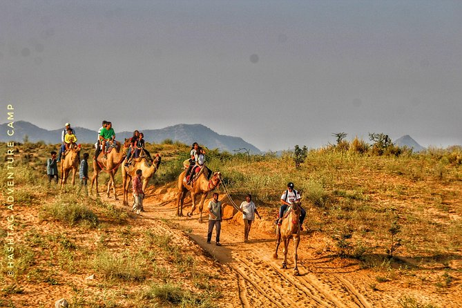 Come enjoy beauty of pushkar on camel safari<br>we have discovered a unique new path to give a new perspective of pushkar fair ground and desert area