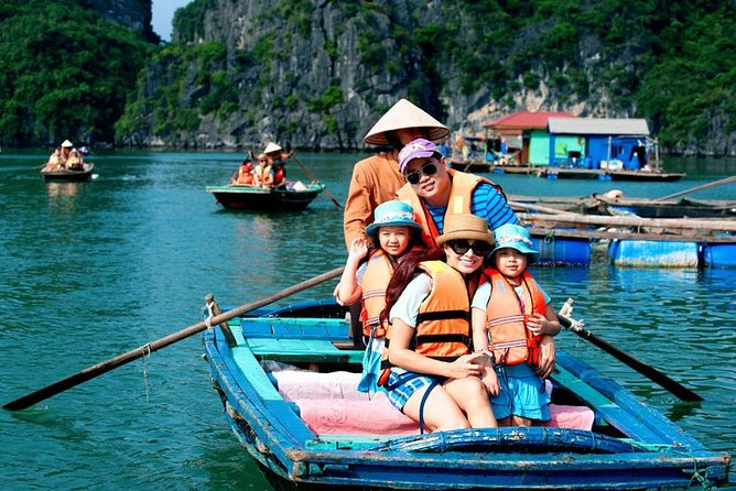 Alova Premium Cruise-Deluxe Day Tour in Ha Long:Titop Island,Kayaking,Expressway, Halong Bay, VIETNAM