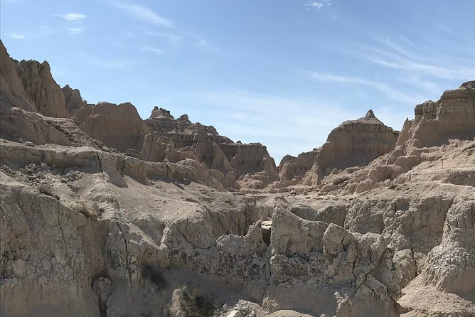 This tour provides a unique glimpse into the beauty and all that the Badlands have to offer! Learn about the history of the area, and spend the day taking in the rare geology of the Badlands. <br><br>There is a two person minimum to book this tour.