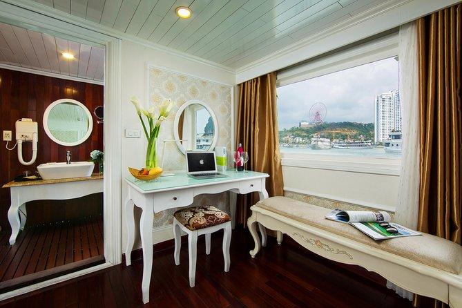 (Official) Signature Royal Cruise - 02 days 01 night program, Halong Bay, VIETNAM