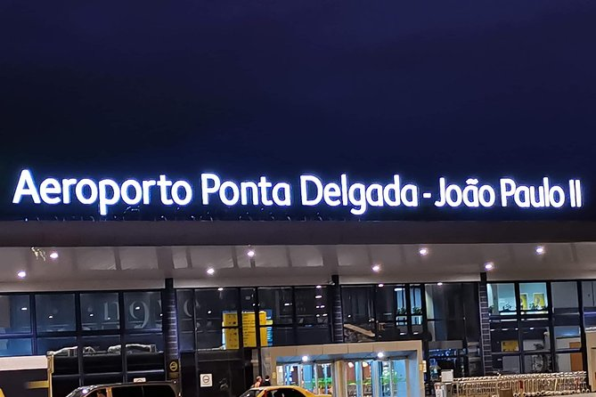 Azores - Airport Transfer to / from Hotels in Capelas, Ponta Delgada, PORTUGAL