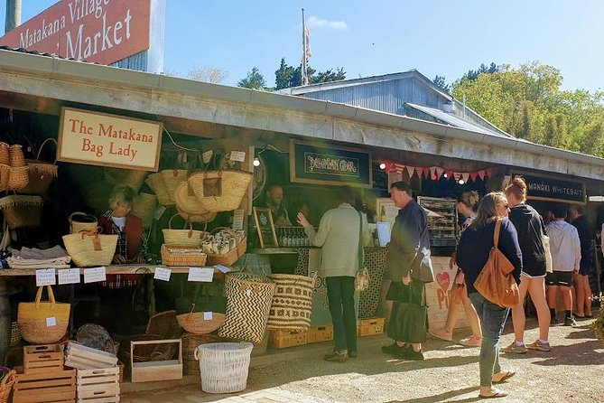 Matakana Market and Wineries Tour from Auckland City, Auckland, New Zealand