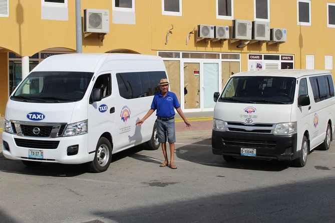 Henk Transfer & Tours is a locally owned and operated tour company with over 15 years of experience. Discover Bonaire with a 3-hour Northern and Southern van tour from Kralendijk as we offer on-board commentary on local culture, history, flora, fauna, sights. <br><br>See Bonaire's beloved pink flamingos, as well as local donkey's in their natural habitat, and experience the huge salt pyramids and colourful salt pans on Bonaire's south end. Visit Bonaire's oldest village, the Slave Huts, downtown-Bonaire, the Catholic Church, and among others, the Goto Lake. <br><br>Sit back and relax in a clean, air-conditioned coach and let one of our friendly and experienced local tour guides take you on an unforgettable excursion of Bonaire.<br><br>Henk Transfer and Tours offers certified island tours in English, Spanish, Dutch, and German.
