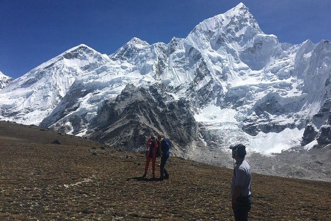 Landing Everest base camp by Helicopter one day trip from kathmandu, Katmandu, NEPAL